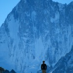 Grandes jorasses north face