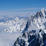 from Aiguille du Midi